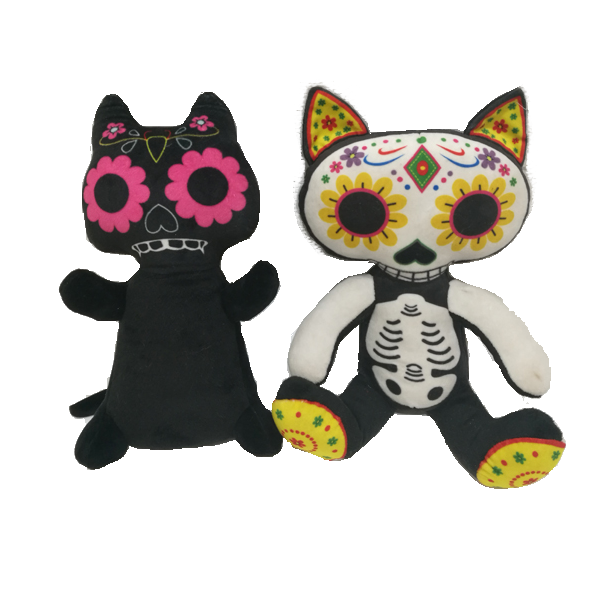 Halloween Cat Plush Toy