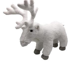 Lifelike Plush White Reindeer Toys