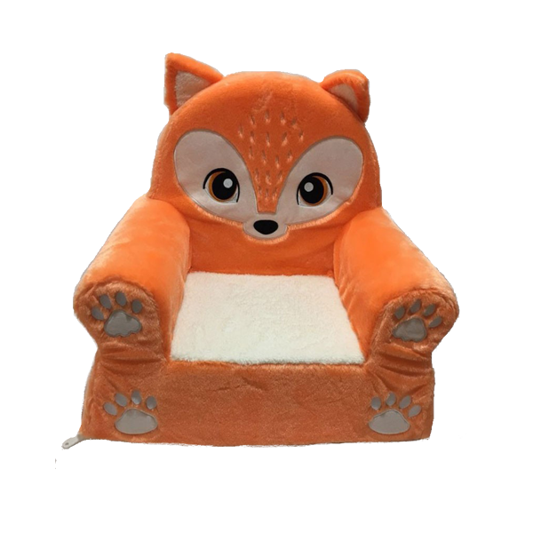 Stuffed Kids Fox Chair