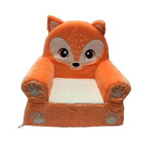 Silla de peluche para niños Fox
