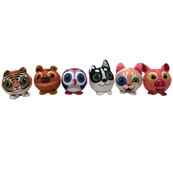 Популярные Squishy PU Foam Plush Animals