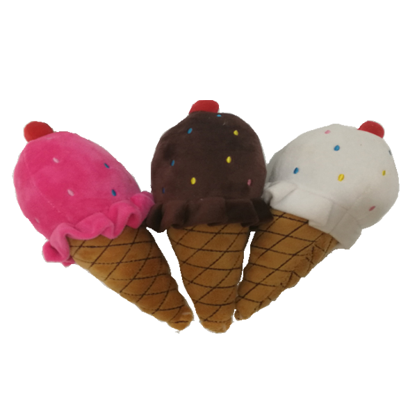 Juguete para mascotas ICTI Audit Factory Plush Icecream