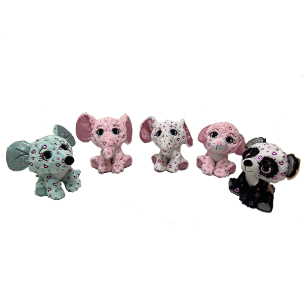 New Material Glitter Snuggly Stuffed Animals