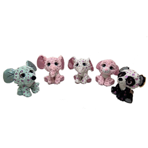 Nuevo material Glitter Snuggly Stuffed Animals