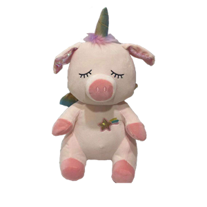 Super Soft Pig Plush Toy With Flappy Ear