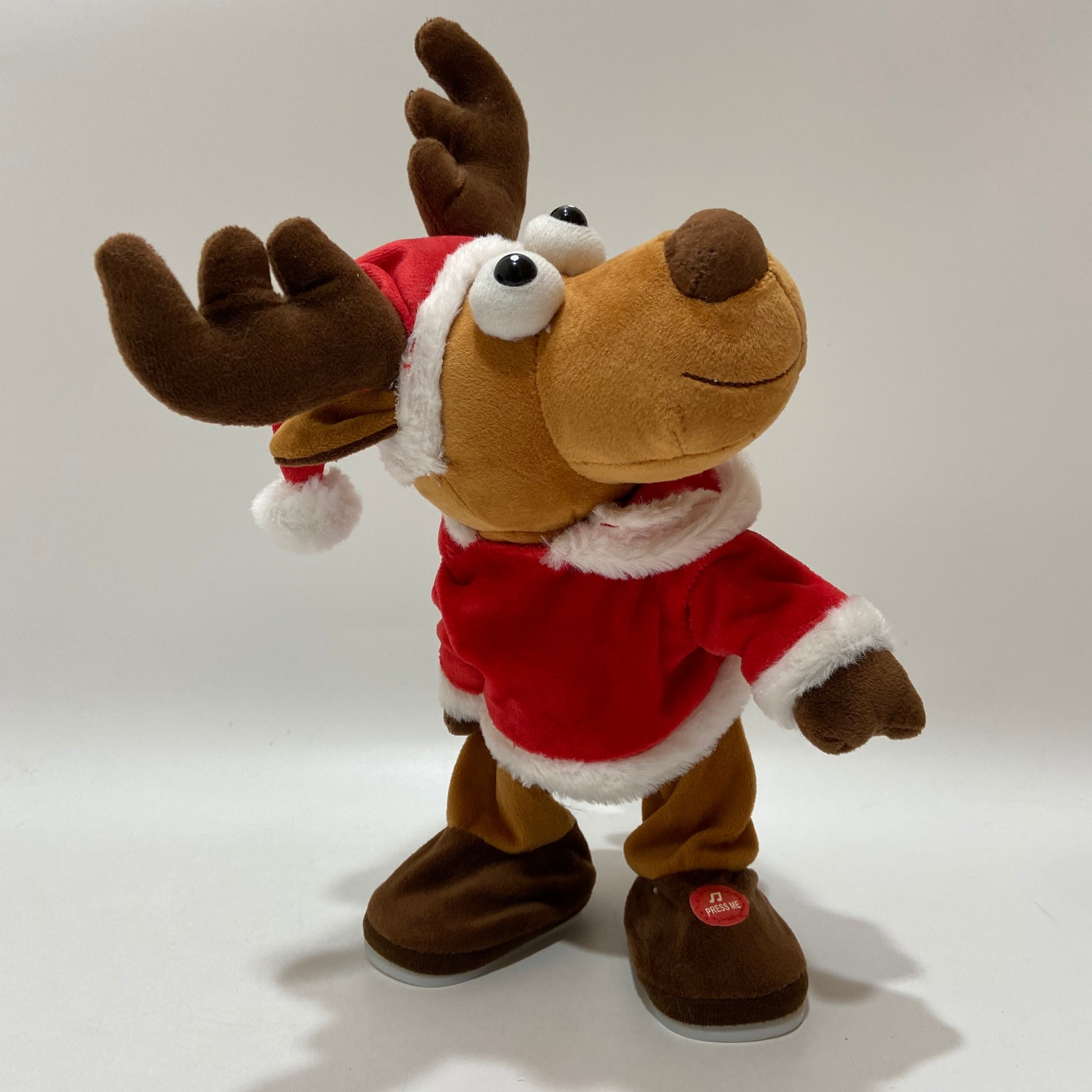 Shaking Buttom Reindeer With Music Manufacturers, Shaking Buttom Reindeer With Music Factory, Supply Shaking Buttom Reindeer With Music