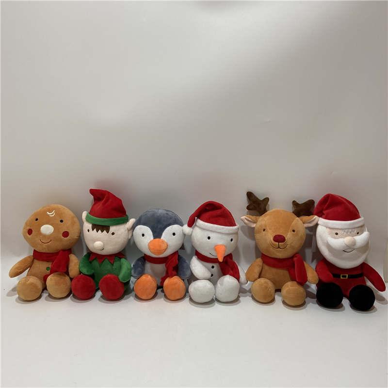 Christmas Santa plush toys