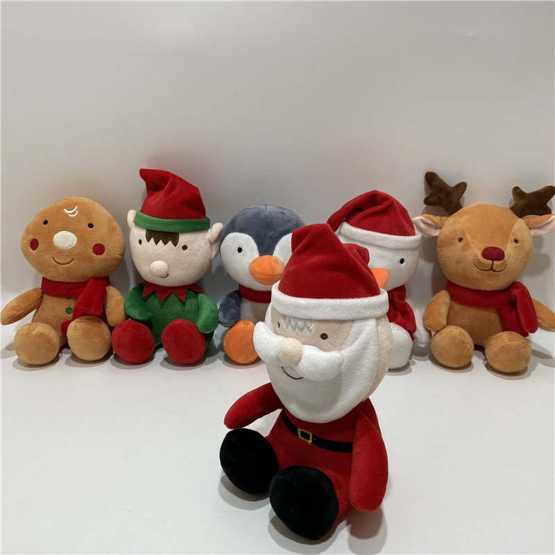 Christmas Snowman plush toys