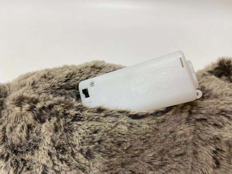 Control de sensor de luz de felpa