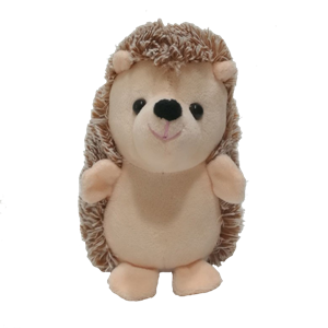 Stuffed Talking Back Hedgehog