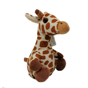 Speaking And Repeating Plush Giraffe Toy