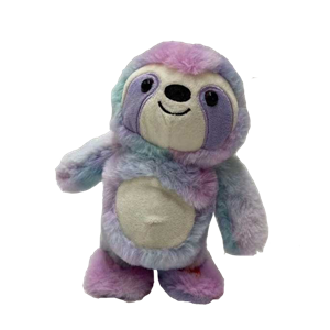 Tie Dye Material I Say What You Say Sloth Toy
