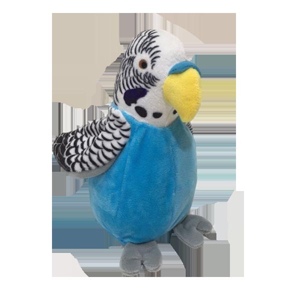 voice recording plush parrot toy
