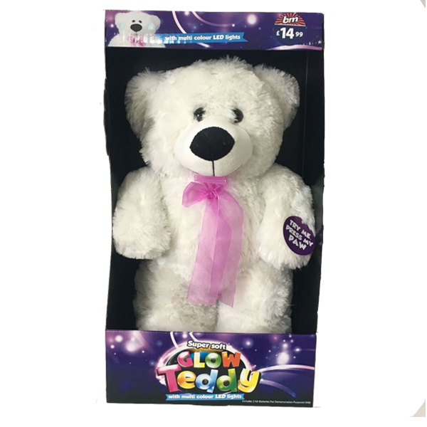 Cute Toy Big Teddy Bear With Changing Lights