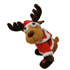 Shaking Buttom Reindeer With Music