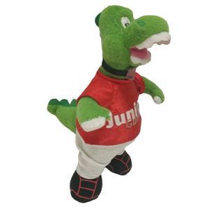 Football Team Mascot Dinosaur Plush Toy
