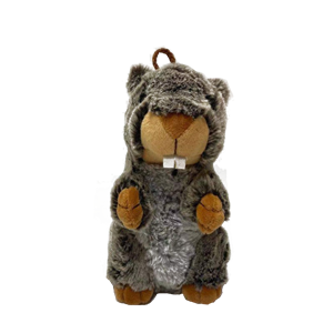 Light Sensor Control Plush Marmot Toy