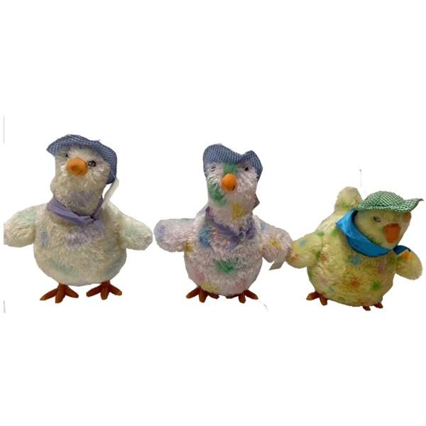 Juguete de huevos de gallina suave pone