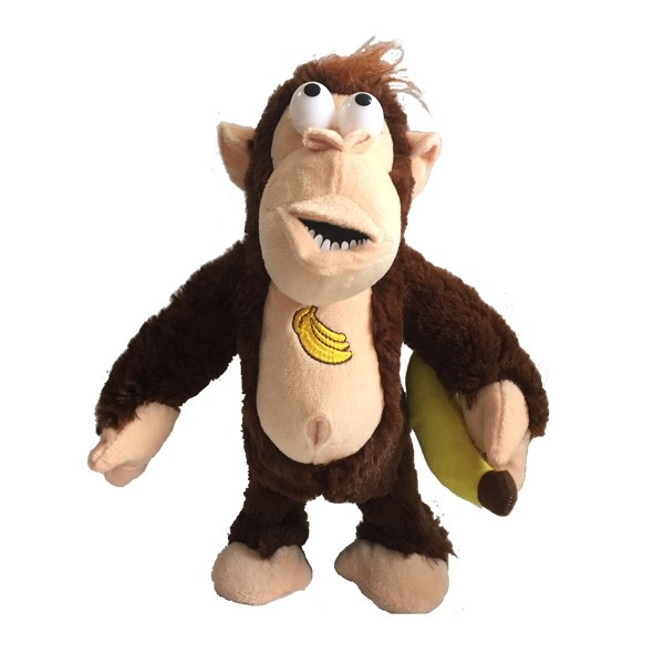 Gorila Relleno Animado Con El Plátano
