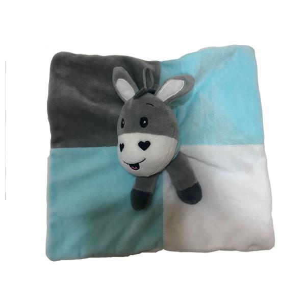 Baby Donkey Plush Blanket
