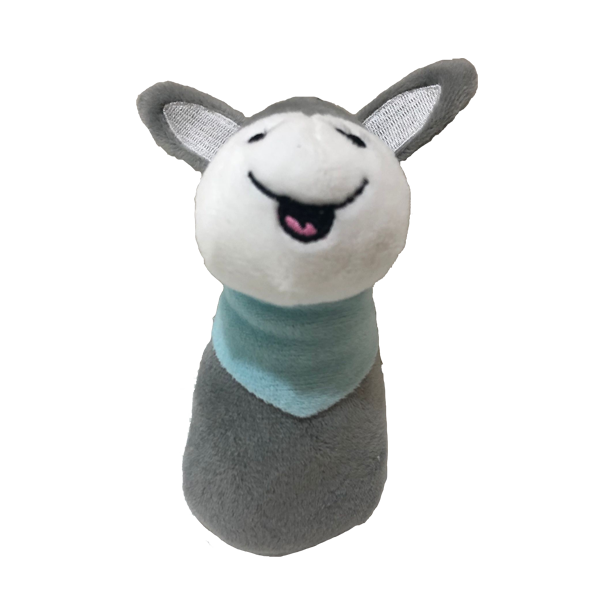 Baby Soft Donkey Rattle Toy
