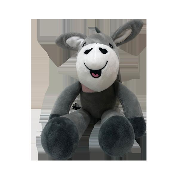 Плюшевая детская игрушка с музыкальной шкатулкой