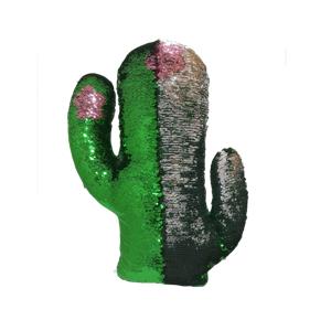 Reversible Sequins Cactus Cushion