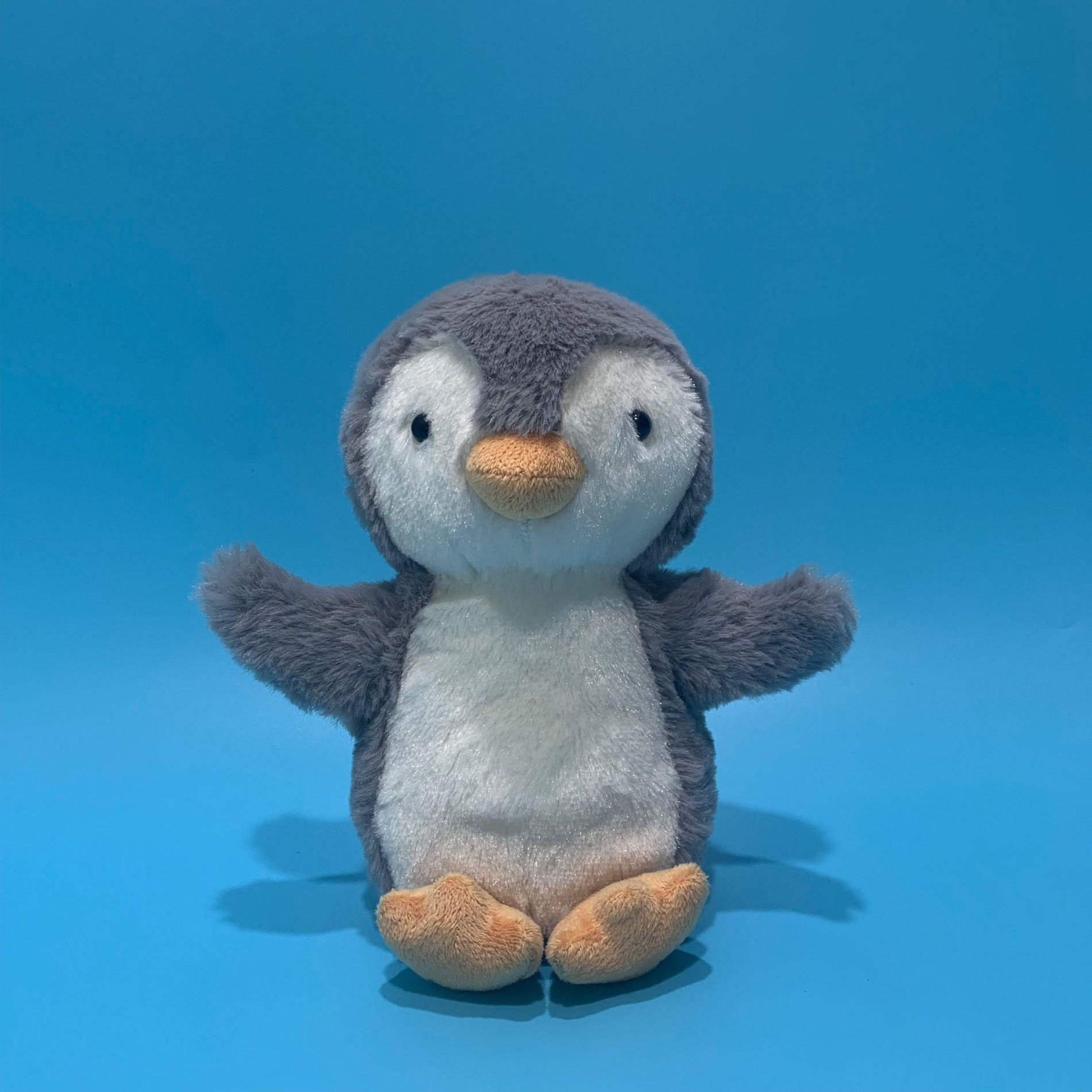 Анимированная игрушка-говорящая плюшевая игрушка-пингвин с повторяющимся голосом и встряхиванием