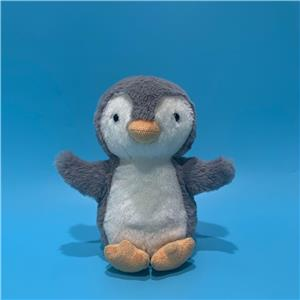 Animated talking back toy Voice repeating and shaking penguin plush toy