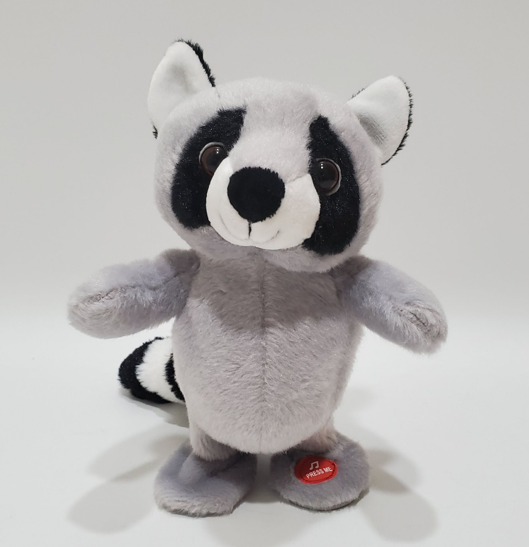 Настройка Оптовая Говорящая игрушка Голосовая повторяющаяся плюшевая игрушка reccoon