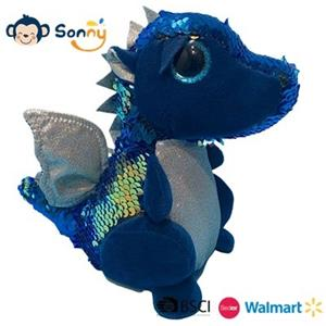 Boy Gift Toy Dragon Plush Speaking Dragon Glitter Dragon