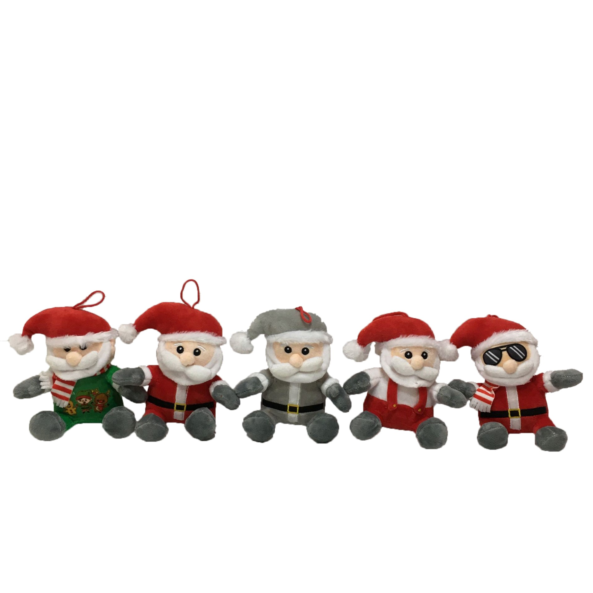 Wholesale Tiny Cute Plush Santa Decoration Toy Plush Toy