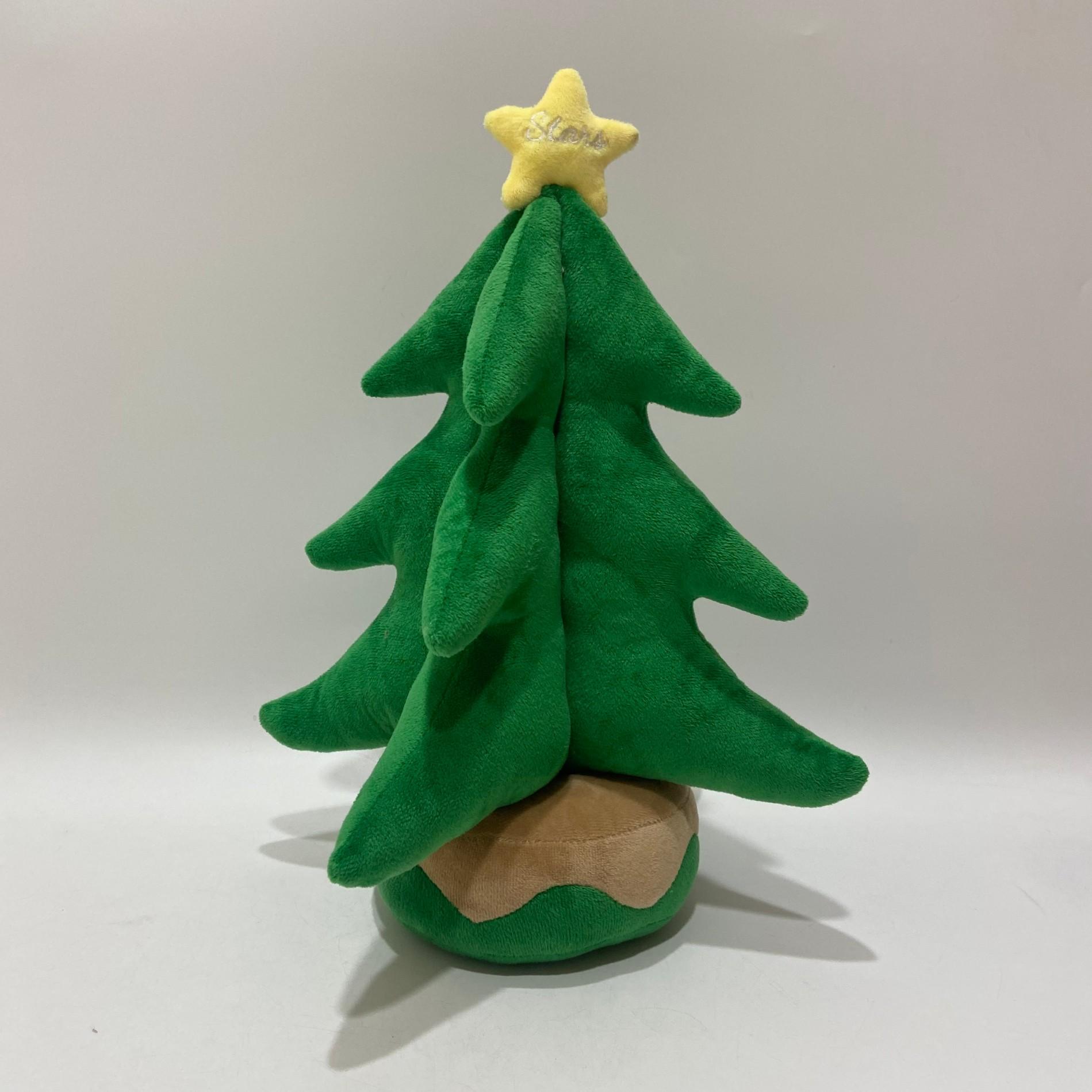 Plush Rendeer and Santa Toy