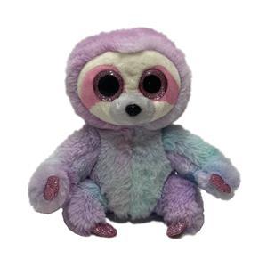 Материал красителя для галстука Я говорю, что ты говоришь, плюшевая милая игрушка-ленивец