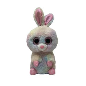 Animated talking back toy Voice repeating and shaking tie dye rabbit plush toy