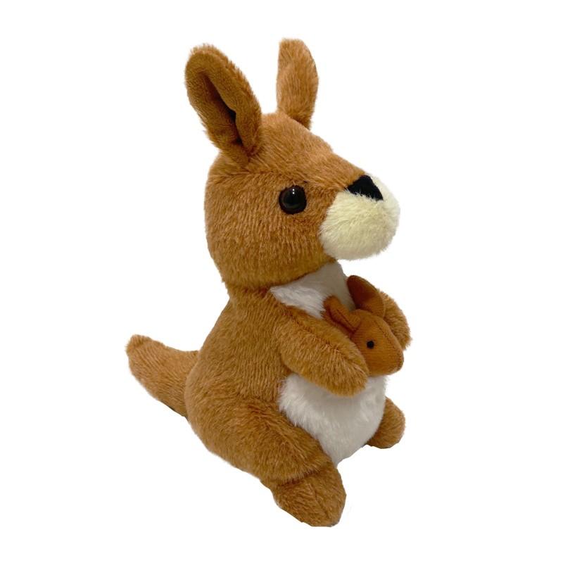 Animated talking back toy Voice repeating and shaking kangaroo plush toy