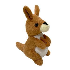 Анимированная игрушка-говорящая плюшевая игрушка-кенгуру, повторяющая голос и трясущаяся