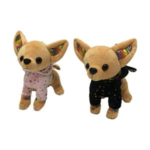 2021 new cute plush chiwawa wears clothes