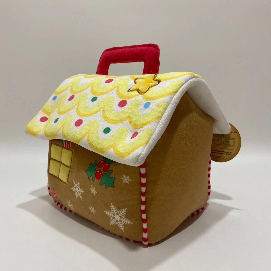 Плюшевый Rendeer и Санта-игрушка