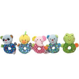 5 Asstd Animal Ruddle Baby Plush Toy