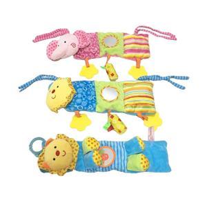 3 Asstd Animal Ruddle Baby Plush Toy
