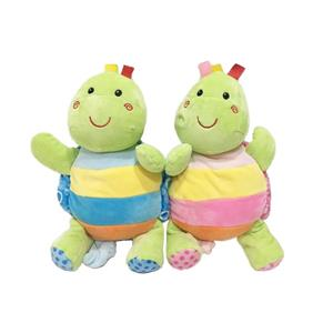A Couple of Turtle Cuddle Baby Plush Toy with Music Box