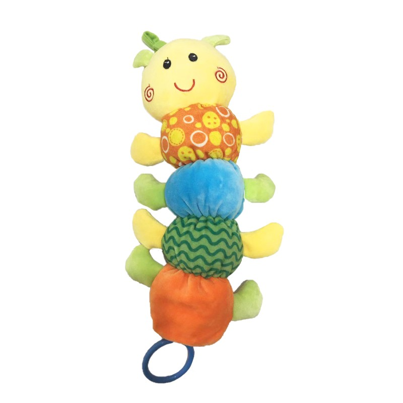Caterpillar Cuddle Baby Plush Toy with Musix Box