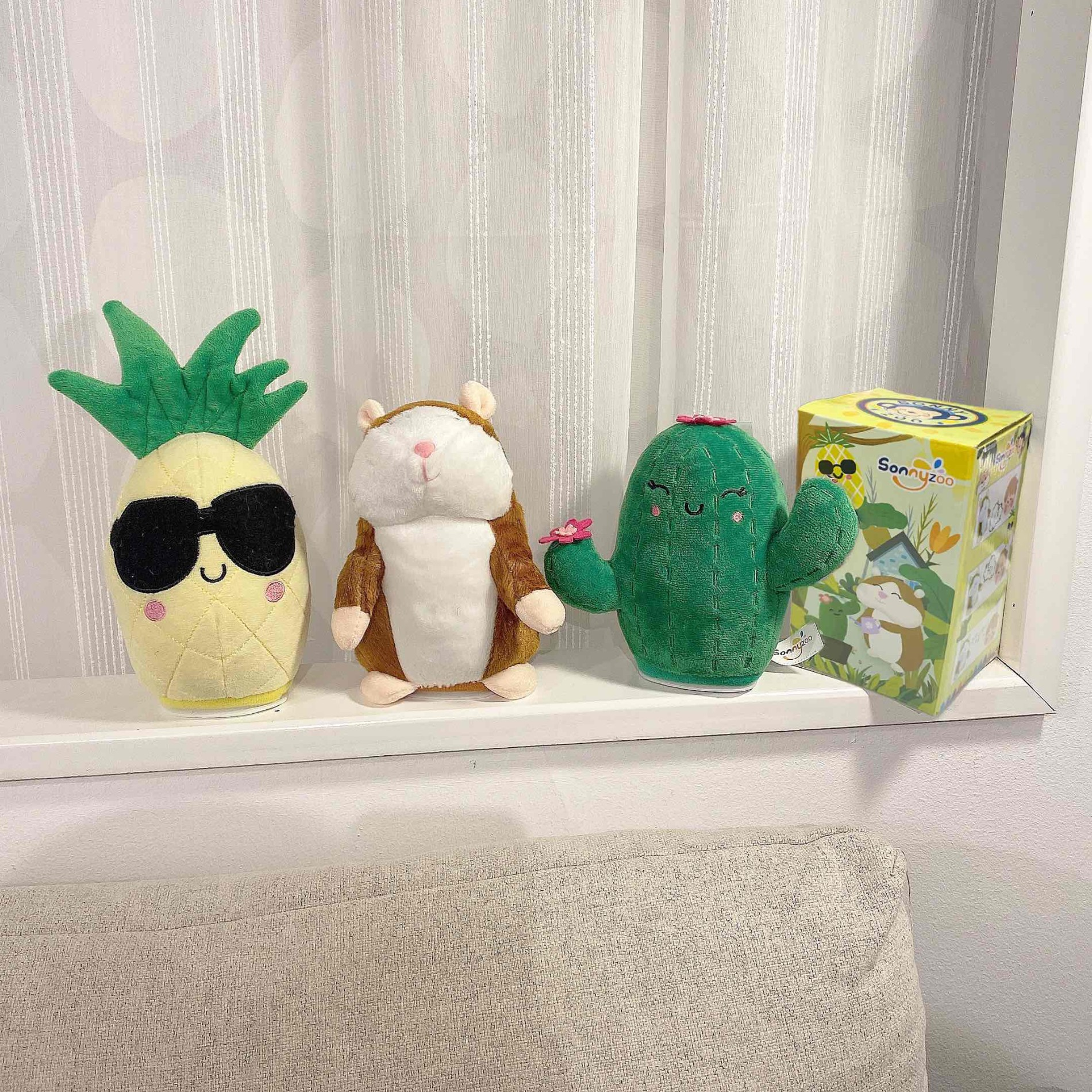 Plush Cute Cactus Speaking Toy