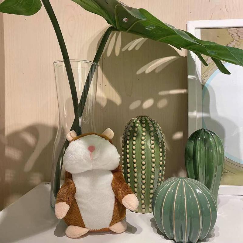 Plush Cute Cactus Speaking Toy