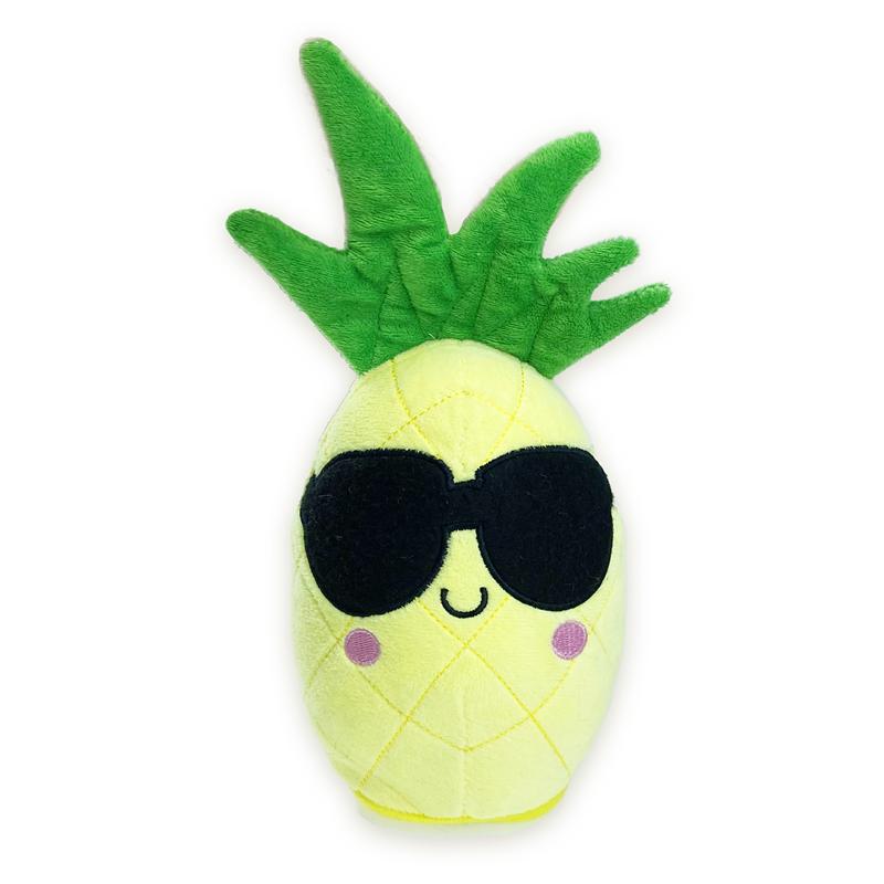 Adorabile peluche a forma di ananas parlante