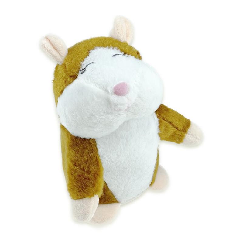 Nieuwe schattige pratende hamster knuffel