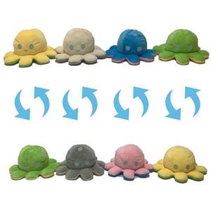 Оптом Реверсивная мягкая игрушка Осьминог