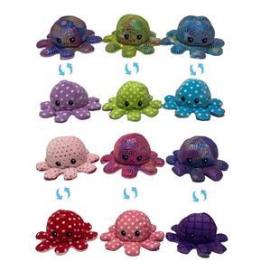 Оптовые двухсторонние мягкие игрушки с откидной крышкой Octopus