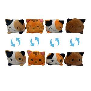 Оптовая торговля двухсторонняя флип мягкая игрушка для кошек